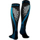 cep Nighttech Running Socks Men blue/black